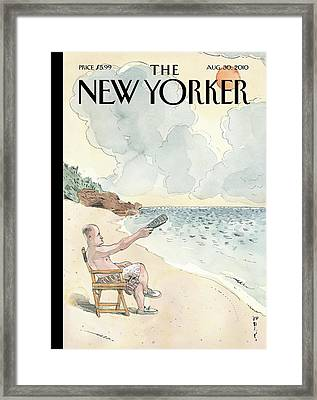 New Yorker August 30th, 2010 Framed Print