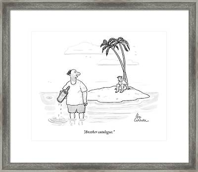 Another Catalogue Framed Print