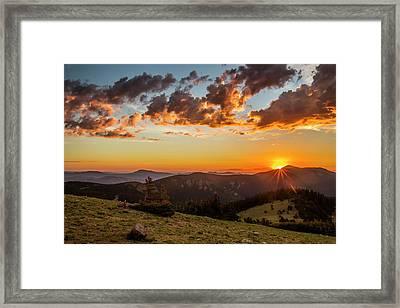 Usa, Colorado, Mt Framed Print by Jaynes Gallery