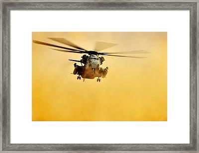 Super Stallion Of The Sky Framed Print