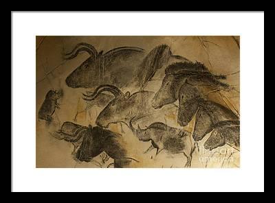 Prehistory Framed Prints