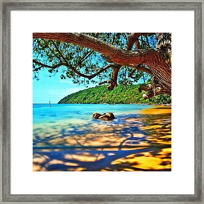 Instagram Photo Framed Print