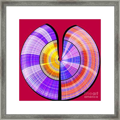 1330 Abstract Thought Framed Print