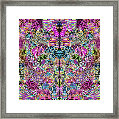 1332 Abstract Thought Framed Print