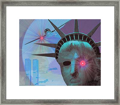 134 -  Attack And Revenge Framed Print by Irmgard Schoendorf Welch