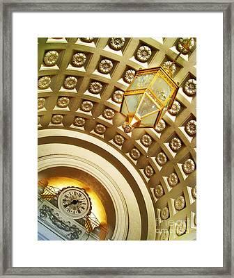 135 P M 3 Of 3 Series Framed Print by John King