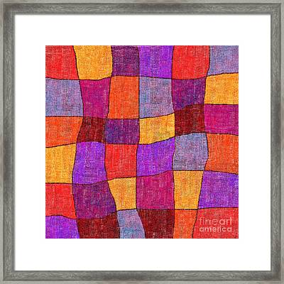 1343 Abstract Thought Framed Print