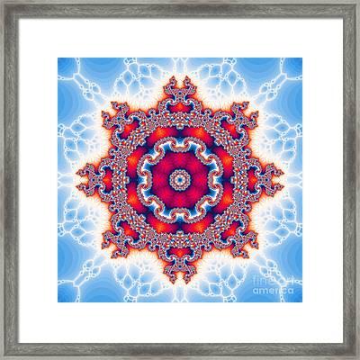 The Kaleidoscope Framed Print by Odon Czintos