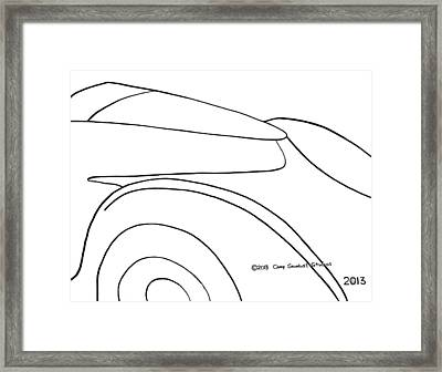136-ls 'flash Fiat' Framed Print by Gregory Otvos