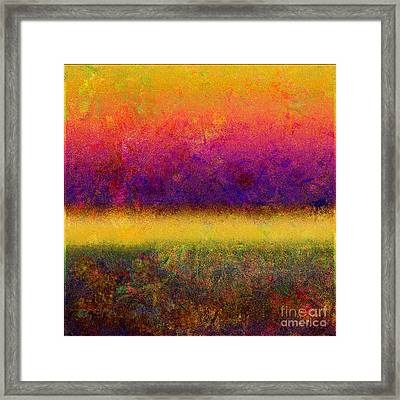 1395 Abstract Thought Framed Print