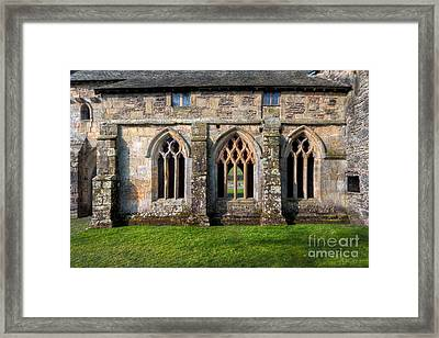 13th Century Abbey Framed Print by Adrian Evans