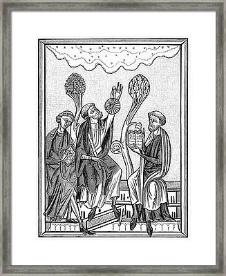 13th Century Astronomers Framed Print by Cci Archives