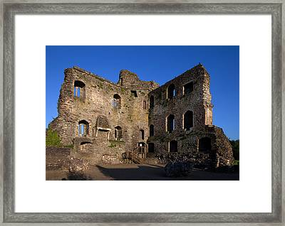 13th Century Castle , Ferns, County Framed Print by Panoramic Images