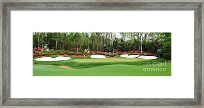13th Green  Augusta Framed Print by Tom McGuirk