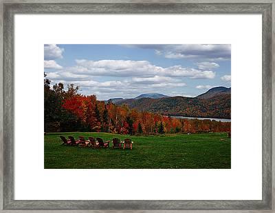 13th Lake View Garnet Hill Lodge Framed Print
