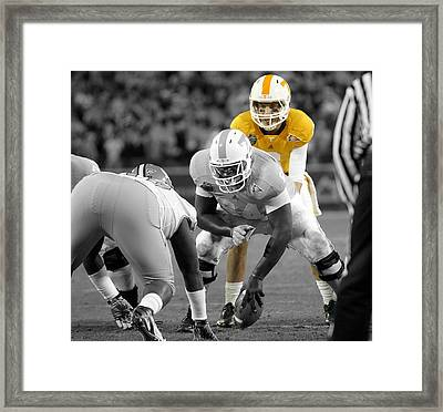 2010 Music City Bowl Framed Print by Don Olea