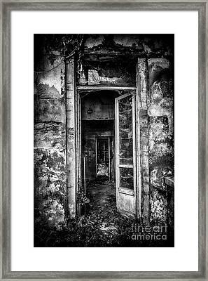 Abandoned Sanatorium Framed Print