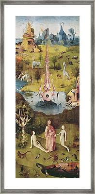 Bosch, Hieronymus Van Aeken, Called Framed Print by Everett