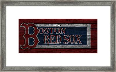 Boston Red Sox Framed Print