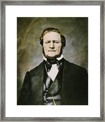 Brigham Young (1801-1877) Framed Print
