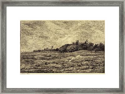 Charles-françois Daubigny French, 1817 - 1878 Framed Print by Quint Lox