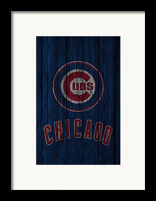 Professional Baseball Teams Framed Prints