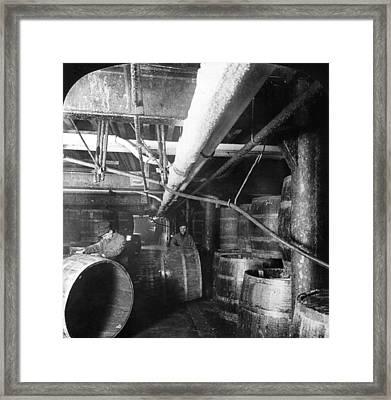 Chicago Meatpacking Framed Print by Granger