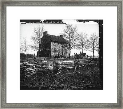 Civil War Bull Run, 1861 Framed Print