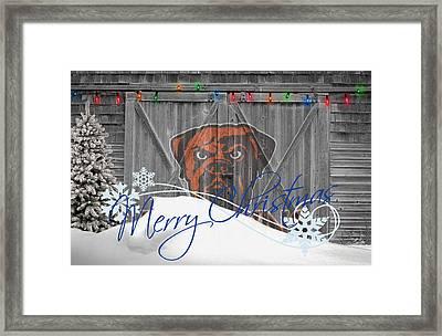 Cleveland Browns Framed Print