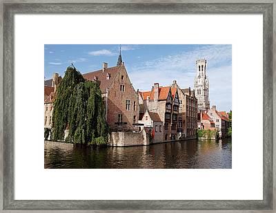 Europe, Belgium, Bruges Framed Print by Kymri Wilt