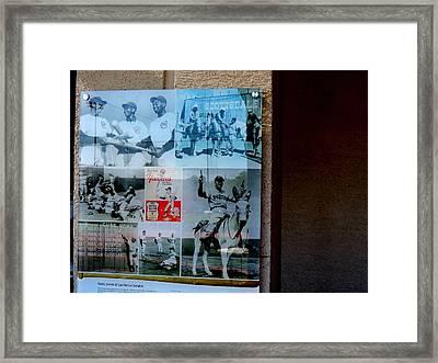 Funrun Framed Print by Marit Runyon