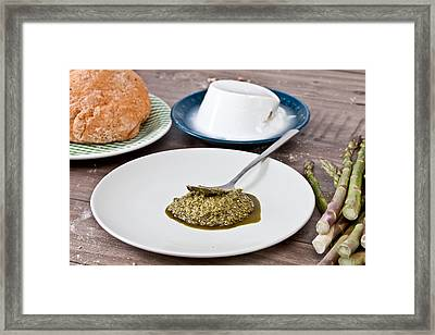 Ingredients Framed Print by Tom Gowanlock