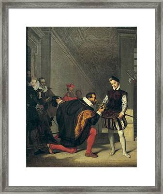 Ingres, Jean-auguste-dominique Framed Print