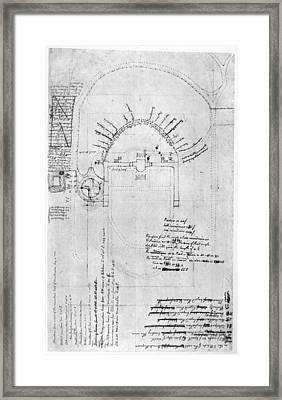 Jefferson: Monticello Framed Print