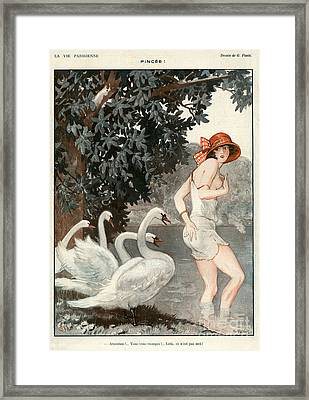 La Vie Parisienne  1923 1920s France Framed Print by The Advertising Archives