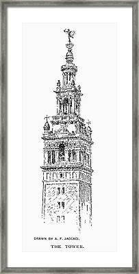 Madison Square Garden Framed Print by Granger