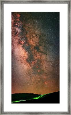 Milky Way Framed Print by Babak Tafreshi