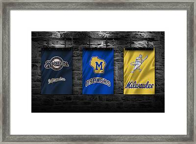 Milwaukee Brewers Framed Print