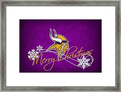 Minnesota Vikings Framed Print