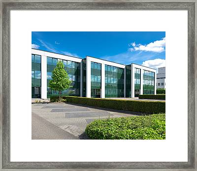 Modern Office Building Framed Print by Hans Engbers