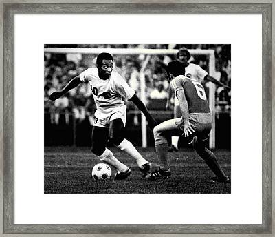 Pele Framed Print by Retro Images Archive