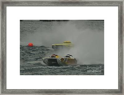 Port Huron Sarnia International Offshore Powerboat Race Framed Print by Randy J Heath