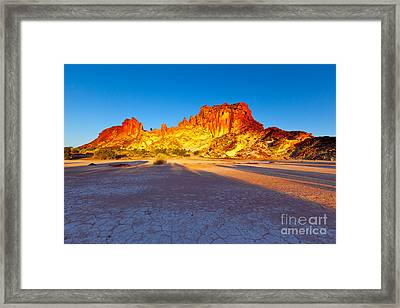 Rainbow Valley Framed Print by Bill  Robinson