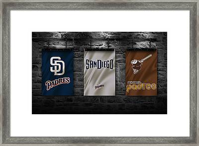 San Diego Padres Framed Print