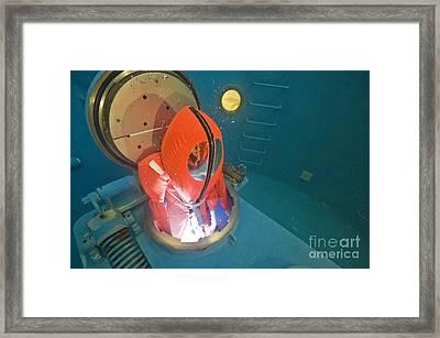 Submarine Rescue Unit Training Framed Print by Alexis Rosenfeld