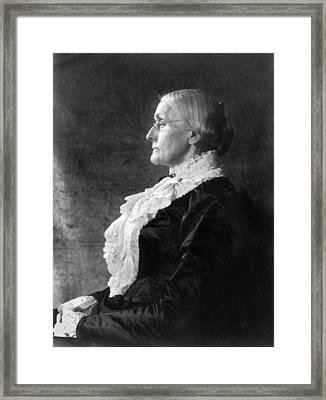 Susan B Framed Print