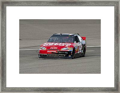 14 Tony Stewart Car Framed Print
