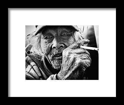 Wrinkle Framed Prints