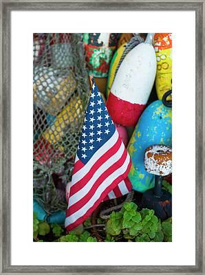 Usa, Massachusetts, Cape Ann, Rockport Framed Print