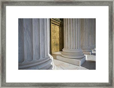 Usa, Washington, D Framed Print by Jaynes Gallery